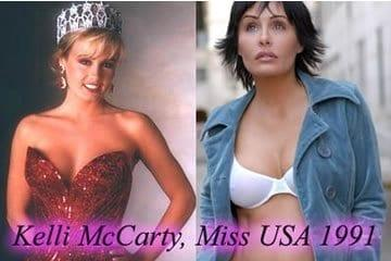 Kelli McCarty pornó - 1991-es Miss USA