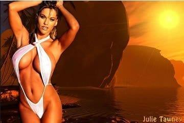 Julie Tawney, a fitness modell pornózott