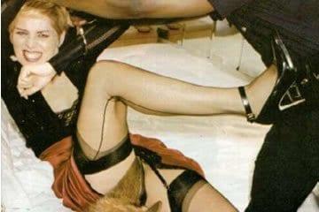 Celeb erotika - Sharon Stone sittre kerül