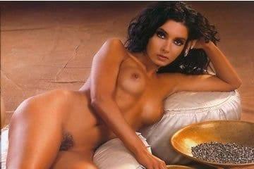 Celeb erotika - Gregor Bernadett (Playboy)