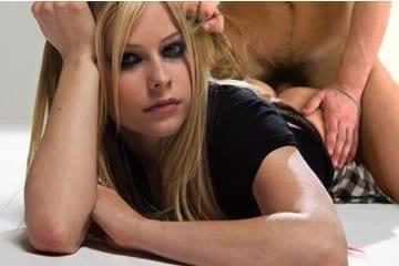Celeb fake pornó - Avril Lavigne 1.
