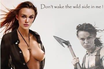 Celeb fake pornó - Keira Knightley 1.