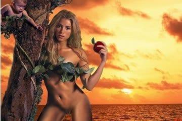 Celeb fake pornó - Shakira 2.