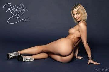 Celeb fake pornó - Kaley Cuoco