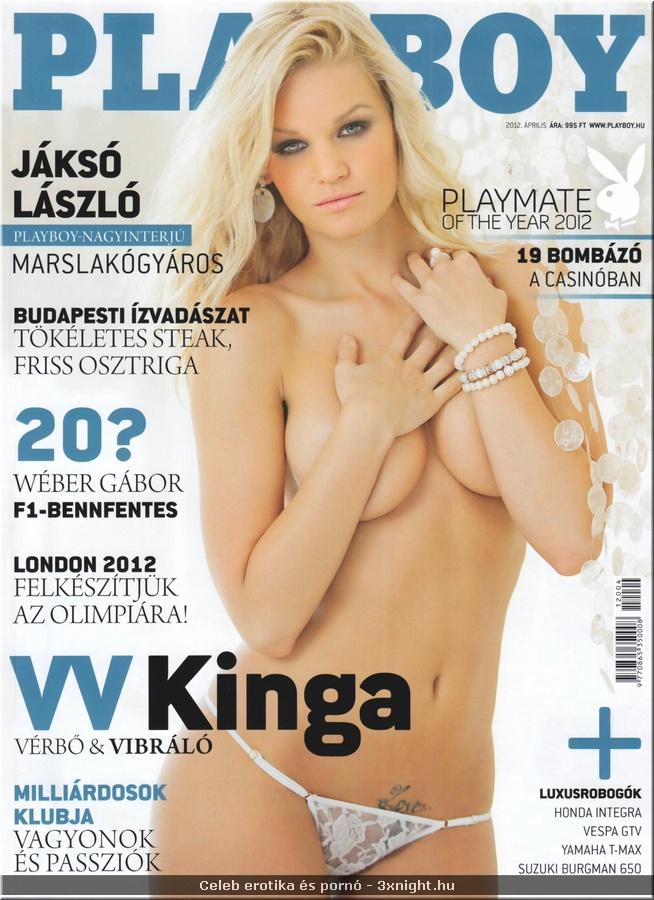 Celeb pornó - Celeb erotika – Kutai Kinga (Playboy)